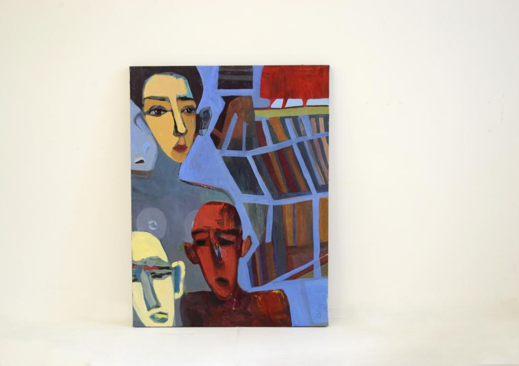 Ieva Skauronė, Du vyrai ir moteris, 2019m